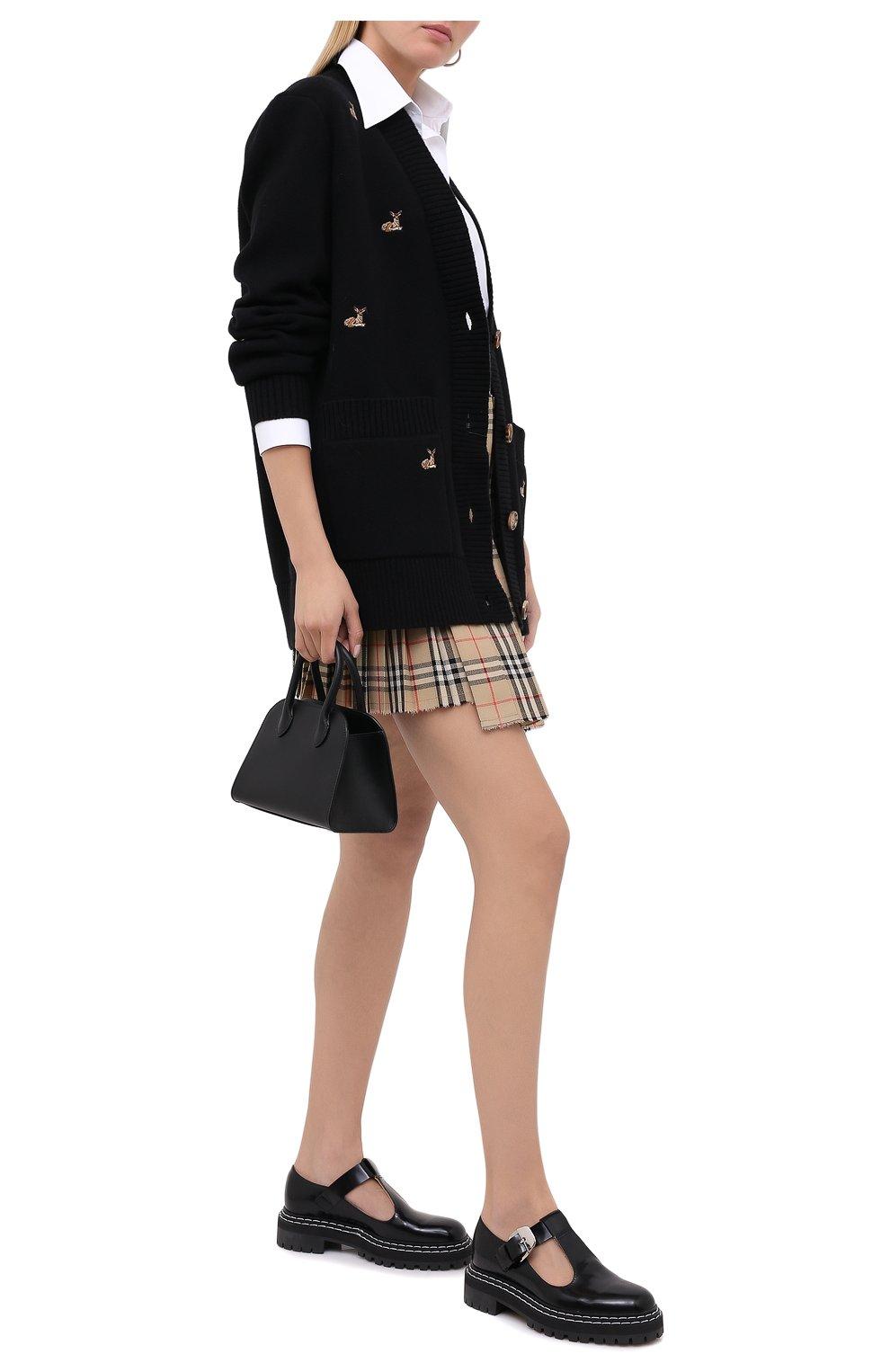 Женские кожаные туфли PROENZA SCHOULER черного цвета, арт. PS35110A/12130 | Фото 2