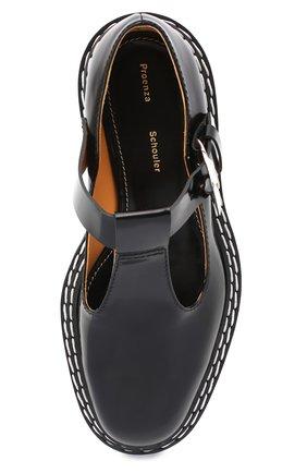 Женские кожаные туфли PROENZA SCHOULER черного цвета, арт. PS35110A/12130 | Фото 5