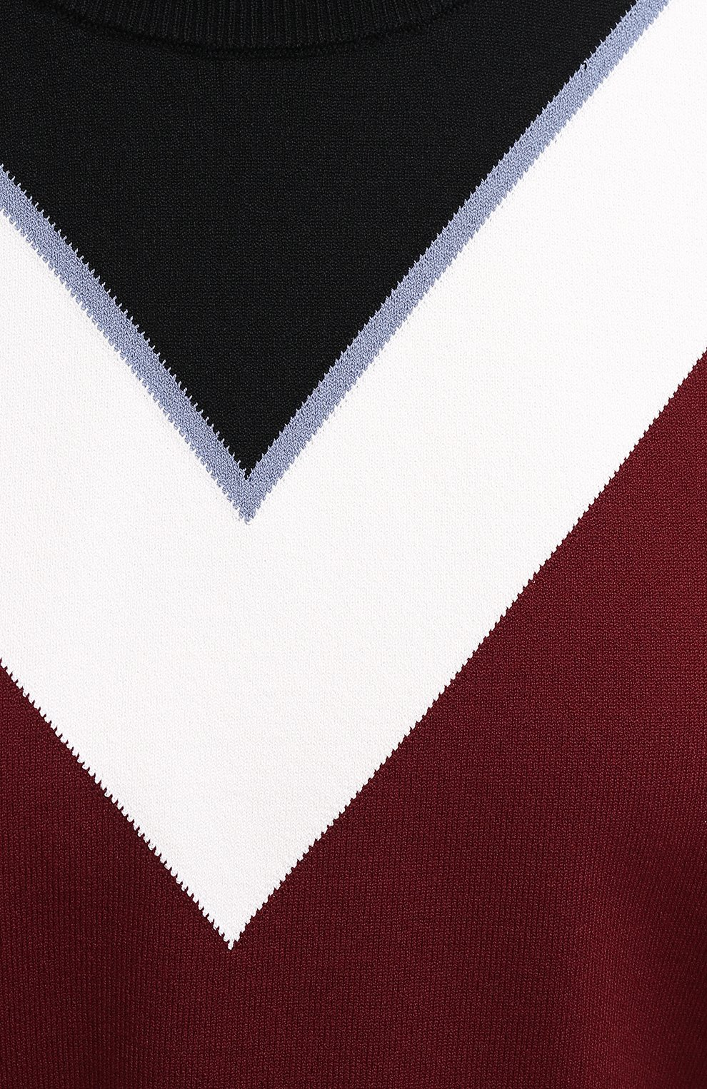 Женский пуловер из вискозы VALENTINO бордового цвета, арт. UB3KC15R5NH | Фото 5