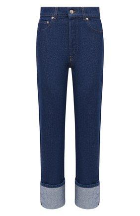 Женские джинсы NANUSHKA синего цвета, арт. CH0_INDIG0_RIGID DENIM   Фото 1