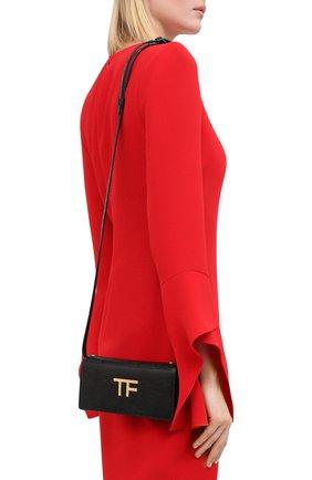 Женская сумка tf mini TOM FORD черного цвета, арт. S0342T-LCL097 | Фото 2