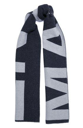 Мужской шарф из шерсти и кашемира ISABEL MARANT темно-серого цвета, арт. EC0242-20A019J/L0LI | Фото 1