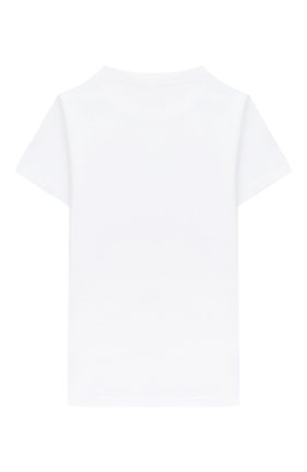 Детская хлопковая футболка BALMAIN белого цвета, арт. 6N8551/NX290/12-16 | Фото 2