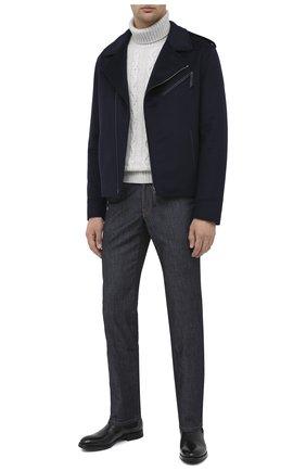 Мужские кожаные челси W.GIBBS черного цвета, арт. 0337029/2280 | Фото 2