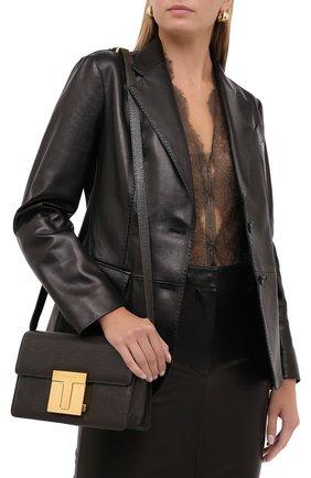 Женская сумка TOM FORD хаки цвета, арт. L1262T-LCL097 | Фото 2