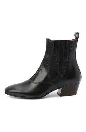 Женские кожаные ботинки JOSEPH черного цвета, арт. J035032A/12012 | Фото 3