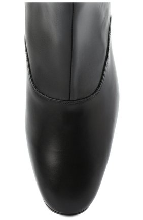 Женские кожаные ботинки JOSEPH черного цвета, арт. J035032A/12012 | Фото 5