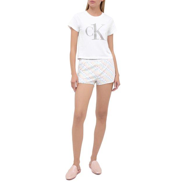Хлопковая пижама Calvin Klein