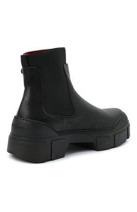 Женские комбинированные ботинки VIC MATIE черного цвета, арт. 1Y5100D.V14C6YT230 | Фото 4