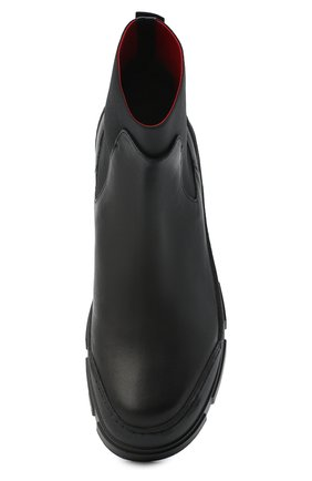 Женские комбинированные ботинки VIC MATIE черного цвета, арт. 1Y5100D.V14C6YT230 | Фото 5
