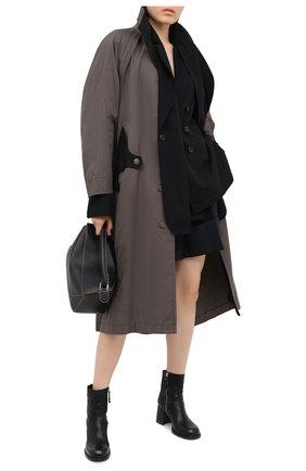 Женские кожаные ботильоны VIC MATIE черного цвета, арт. 1Y5240D.Y18Y060101 | Фото 2