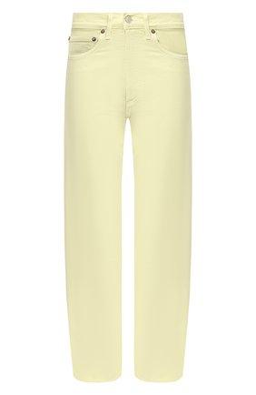 Женские джинсы AGOLDE желтого цвета, арт. A069-1183   Фото 1