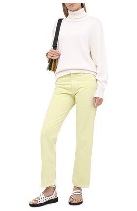Женские джинсы AGOLDE желтого цвета, арт. A069-1183   Фото 2