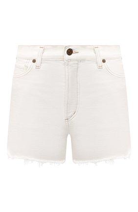 Женские джинсовые шорты CITIZENS OF HUMANITY белого цвета, арт. 993-3001 | Фото 1