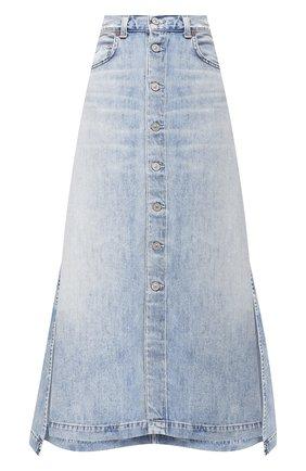 Женская джинсовая юбка CITIZENS OF HUMANITY синего цвета, арт. 3152-991 | Фото 1