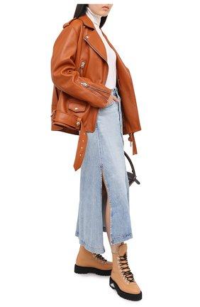 Женская джинсовая юбка CITIZENS OF HUMANITY синего цвета, арт. 3152-991 | Фото 2