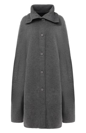 Женская кашемировый кейп LORO PIANA серого цвета, арт. FAL2203 | Фото 1