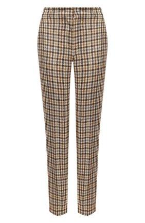 Женские брюки из кашемира и шерсти LORO PIANA бежевого цвета, арт. FAL4176 | Фото 1