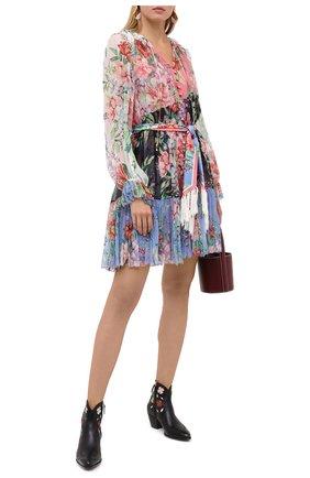Женские кожаные ботинки POLO RALPH LAUREN черного цвета, арт. 818799159 | Фото 2