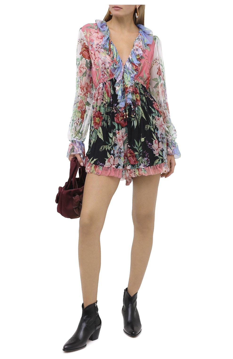 Женские кожаные ботинки POLO RALPH LAUREN черного цвета, арт. 818799180 | Фото 2