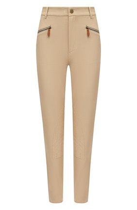 Женские хлопковые брюки RALPH LAUREN коричневого цвета, арт. 290815841 | Фото 1