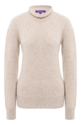 Женская кашемировый свитер RALPH LAUREN кремвого цвета, арт. 290815737 | Фото 1