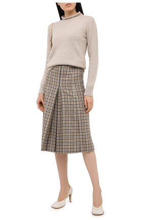 Женская кашемировый свитер RALPH LAUREN кремвого цвета, арт. 290815737 | Фото 2