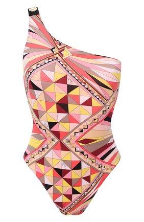 Женский слитный купальник EMILIO PUCCI розового цвета, арт. 0RMC20/0R797 | Фото 1