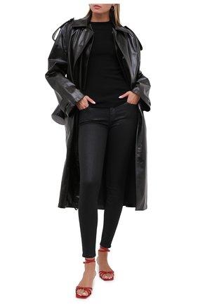 Женские джинсы 7 FOR ALL MANKIND черного цвета, арт. JSWTV500KK | Фото 2