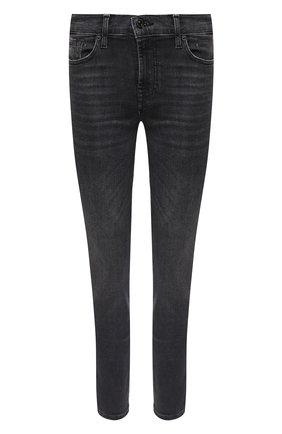 Женские джинсы 7 FOR ALL MANKIND серого цвета, арт. JSWZB260SE | Фото 1