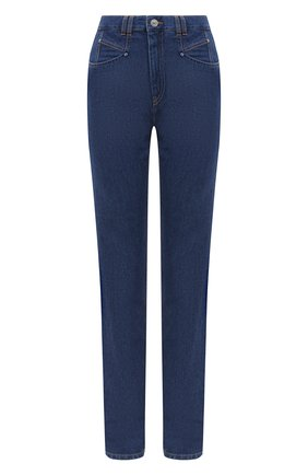 Женские джинсы ISABEL MARANT темно-синего цвета, арт. PA1750-20A022I/N0MINIC | Фото 1