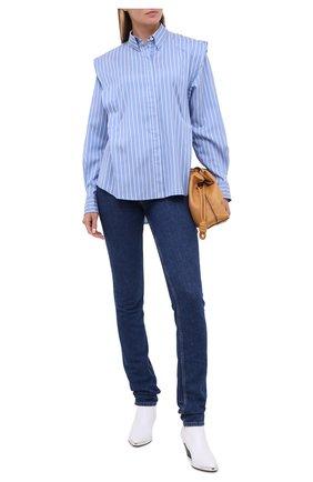 Женские джинсы ISABEL MARANT темно-синего цвета, арт. PA1750-20A022I/N0MINIC | Фото 2
