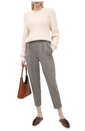 Женская свитер ISABEL MARANT ETOILE кремвого цвета, арт. PU1066-20A011E/PLEANE | Фото 2