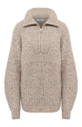 Женская свитер ISABEL MARANT ETOILE бежевого цвета, арт. PU1109-20A011E/MYCLAN | Фото 1
