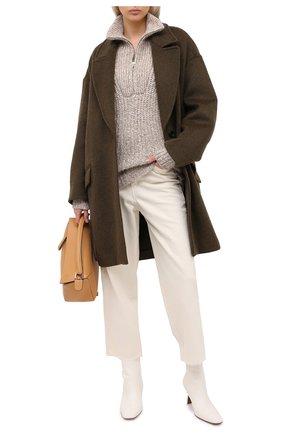 Женская свитер ISABEL MARANT ETOILE бежевого цвета, арт. PU1109-20A011E/MYCLAN | Фото 2