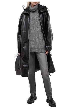 Женская свитер ISABEL MARANT ETOILE темно-серого цвета, арт. PU1349-20A011E/T0NYA | Фото 2