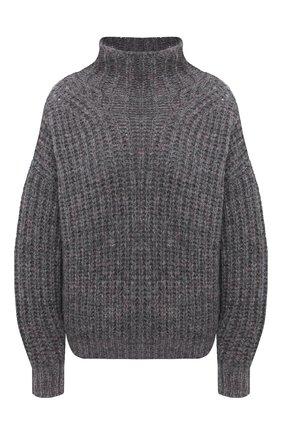 Женская свитер ISABEL MARANT темно-серого цвета, арт. PU1413-20A042I/IRIS | Фото 1