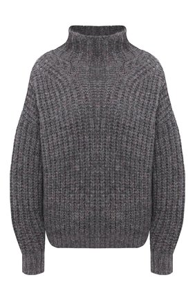 Женская свитер ISABEL MARANT серого цвета, арт. PU1413-20A042I/IRIS | Фото 1
