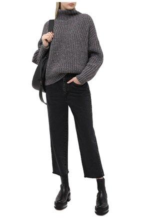 Женская свитер ISABEL MARANT серого цвета, арт. PU1413-20A042I/IRIS | Фото 2