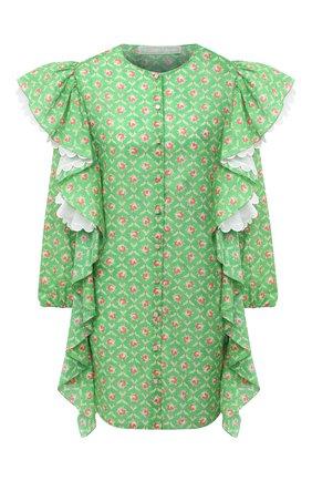 Женское платье ULYANA SERGEENKO зеленого цвета, арт. ABC008SS20P (0256т20) | Фото 1