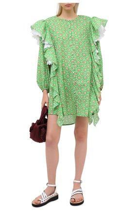 Женское платье ULYANA SERGEENKO зеленого цвета, арт. ABC008SS20P (0256т20) | Фото 2