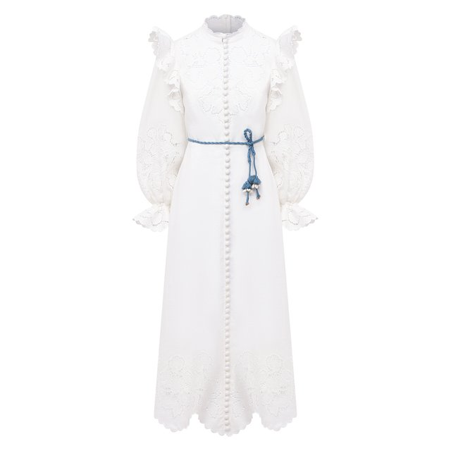 Льняное платье Zimmermann