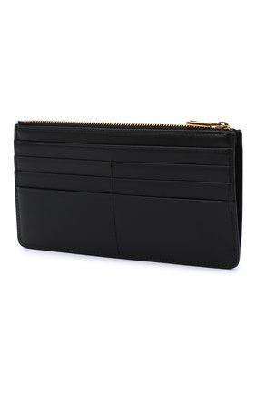 Женский кожаный футляр для кредитных карт DOLCE & GABBANA черного цвета, арт. BI1265/AX121   Фото 2