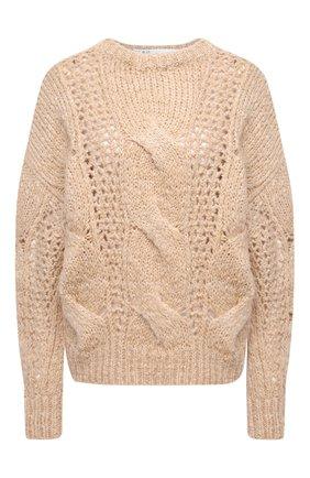 Женская свитер IRO бежевого цвета, арт. WP12BELAGA | Фото 1