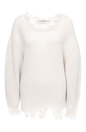 Женская шерстяной свитер IRO кремвого цвета, арт. WM12W0DY | Фото 1