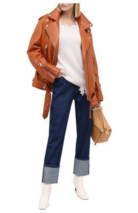 Женская шерстяной свитер IRO кремвого цвета, арт. WM12W0DY | Фото 2