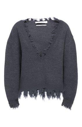 Женская шерстяной свитер IRO темно-серого цвета, арт. WM12W00LY | Фото 1