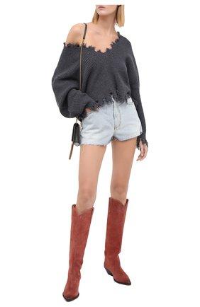 Женская шерстяной свитер IRO темно-серого цвета, арт. WM12W00LY | Фото 2