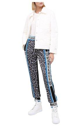 Женские кожаные кроссовки miami DOLCE & GABBANA белого цвета, арт. CK1696/AA331 | Фото 2