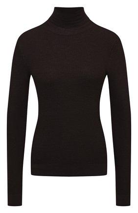 Женская кашемировый свитер DOLCE & GABBANA коричневого цвета, арт. FX865T/JAW2S | Фото 1